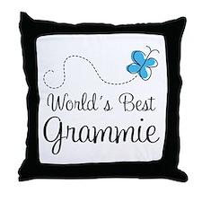 Grammie (World's Best) Throw Pillow