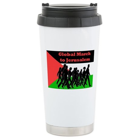 Global March to Jerusalem Stainless Steel Travel M