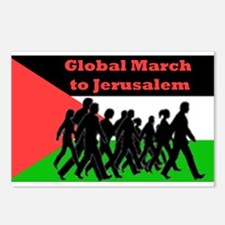 Global March to Jerusalem Postcards (Package of 8)