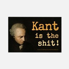 """""""Kant Is The Shit!"""" Rectangle Magnet"""