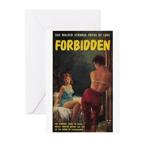 FORBIDDEN Greeting Cards (Pk of 10)