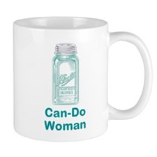 Can-Do Woman Small Mug