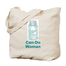 Can-Do Woman Tote Bag