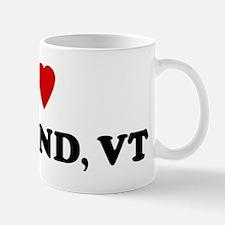 I Love Rutland Mug