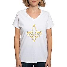 Frilly Fleur De Lis Shirt