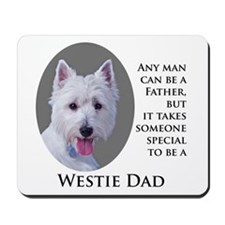 Westie Dad Mousepad