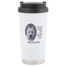 Westie Dad Travel Mug