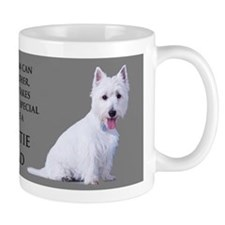 Westie Dad Small Mugs