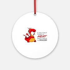 Tickle Dragon Ornament (Round)
