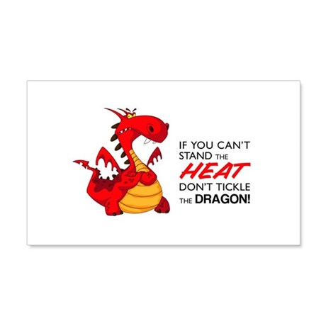 Tickle Dragon 22x14 Wall Peel