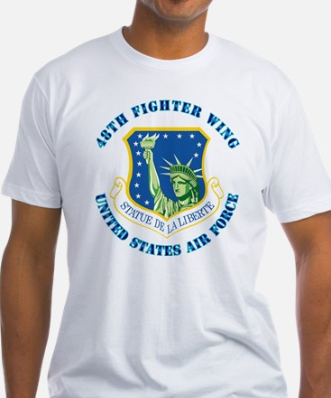 48th Fighter Wing with Text Shirt