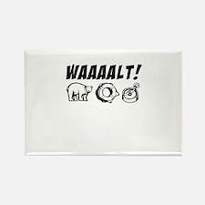 walt & michael Rectangle Magnet