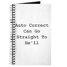 Auto Correct He'll Journal