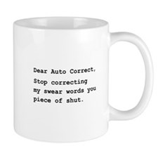 Auto Correct Shut Mug