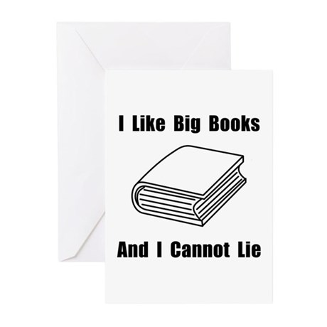 I Like Big Books Greeting Cards (Pk of 20)
