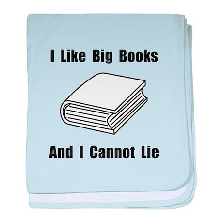 I Like Big Books baby blanket