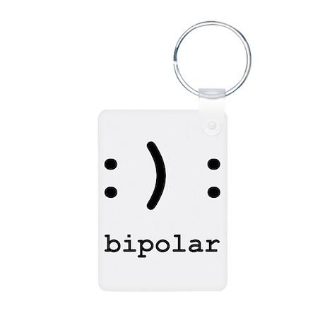 Bipolar Aluminum Photo Keychain