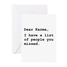 Dear Karma Greeting Cards (Pk of 20)