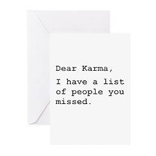 Dear Karma Greeting Cards (Pk of 10)