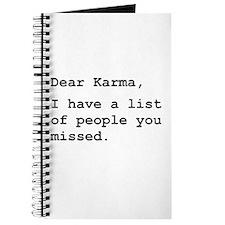 Dear Karma Journal