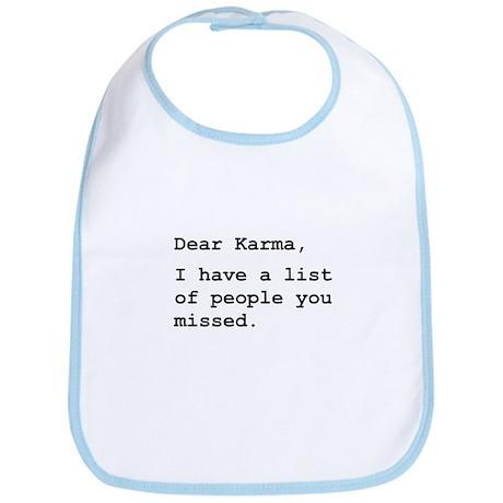 Dear Karma Bib