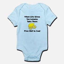 Free Lemons Infant Bodysuit