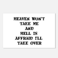 Heaven Hell Postcards (Package of 8)