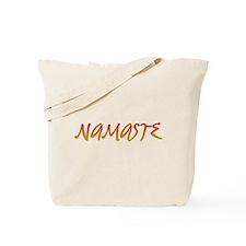 Namaste 2 Tote Bag