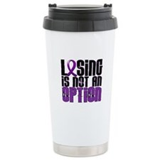 Losing Is Not An Option Anorexia Travel Mug