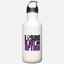 Losing Is Not An Option Anorexia Water Bottle