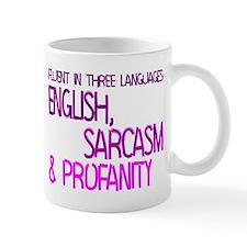 Fluent In Three Languages Mug