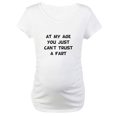 Trust Fart Maternity T-Shirt