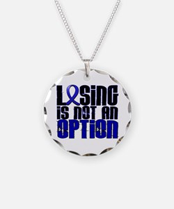 Losing Is Not An Option Arthritis Necklace Circle