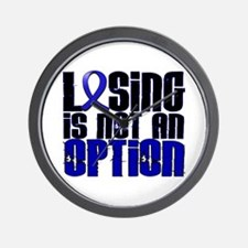Losing Is Not An Option Arthritis Wall Clock