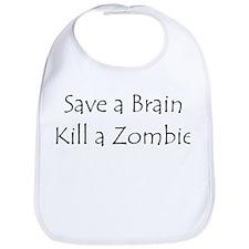 Save a brain! Bib