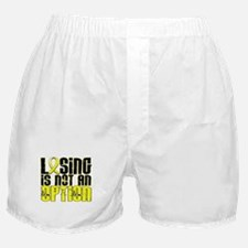 Losing Is Not An Option Bladder Cancer Boxer Short