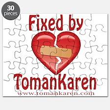 Funny Heart karen Puzzle