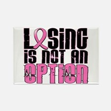 Losing Is Not An Option Breast Cancer Rectangle Ma
