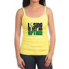 Losing Is Not An Option Cervical Cancer Jr.Spaghetti Strap