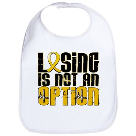 Losing Is Not An Option Childhood Cancer Bib