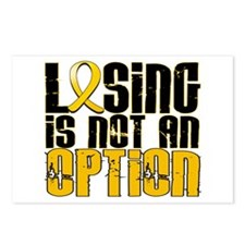 Losing Is Not An Option Childhood Cancer Postcards