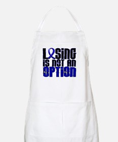 Losing Is Not An Option Colon Cancer Apron