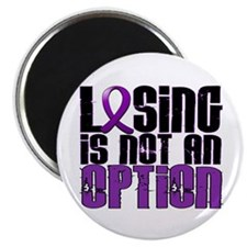 """Losing Is Not An Option Cystic Fibrosis 2.25"""" Magn"""