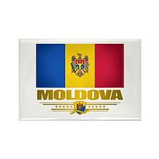 Moldova Pride Rectangle Magnet