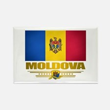 Moldova Pride Rectangle Magnet