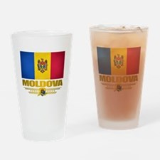 Moldova Pride Drinking Glass