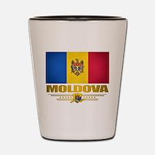 Moldova Pride Shot Glass