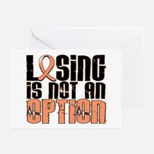 Losing Is Not An Option Endometrial Cancer Greetin