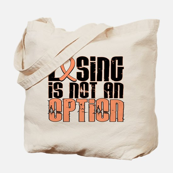 Losing Is Not An Option Endometrial Cancer Tote Ba