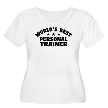 Personal Trainer Women's Plus Size Scoop Neck T-Sh
